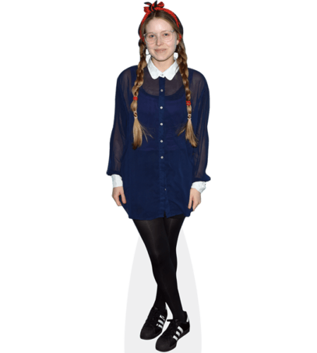 Jessie Cave (Blue Dress)