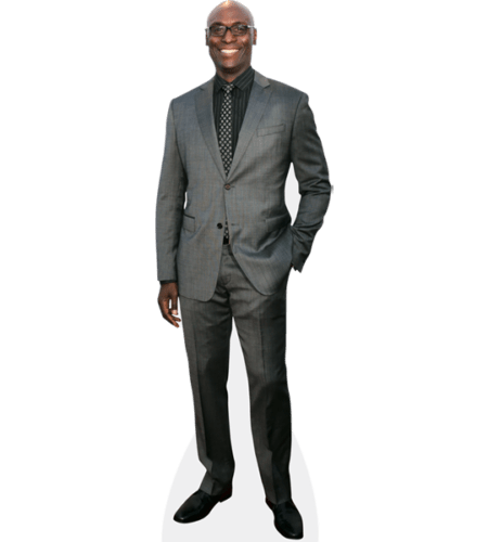 Lance Reddick (Grey Suit)