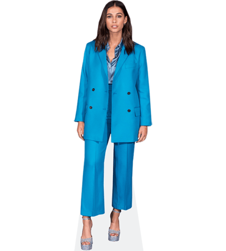 Naomi Scott (Blue Suit)