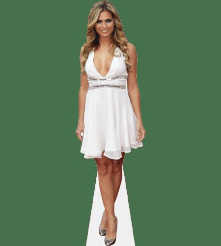 Clara Morgane (White Dress)