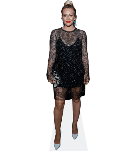 Hilary Duff (Black Dress)