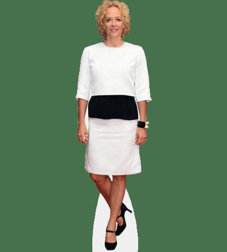 Katja Riemann (White Dress)