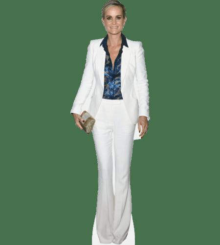 Laeticia Hallyday (White Suit)