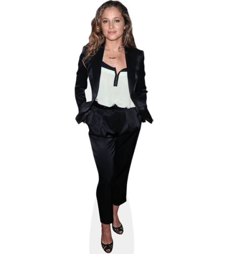 Margarita Levieva (Black Suit)