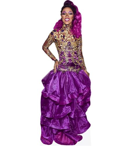 The Vixen (Purple Dress)
