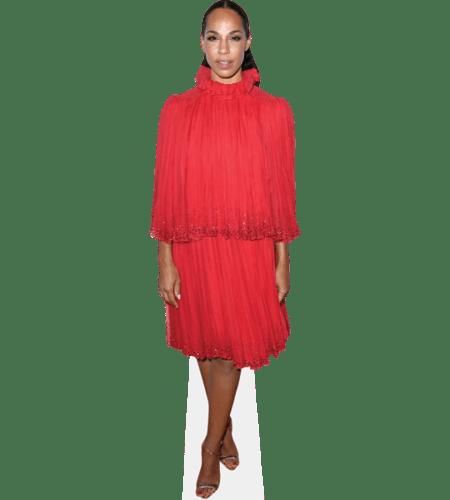 Amanda Brugel (Red Dress)