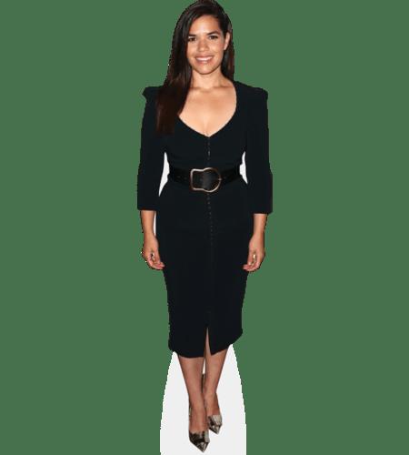 America Ferrera (Black Dress)
