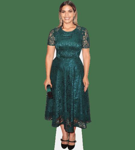 America Ferrera (Green Dress)