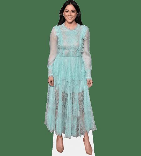 Chloe Bennet (Blue Dress)
