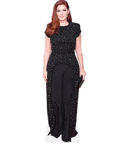 Debra Messing (Black Outfit)