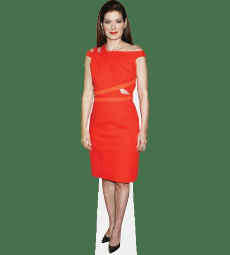 Debra Messing (Orange Dress)