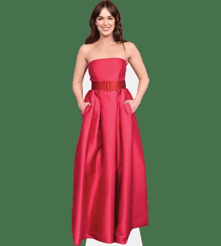 Elizabeth Henstridge (Pink Dress)