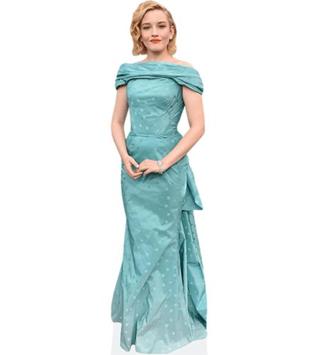 Julia Garner (Blue Dress)