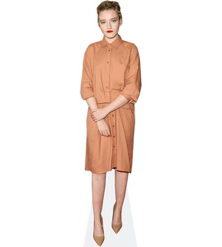 Julia Garner (Shirt Dress)