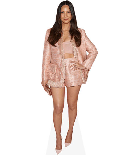 Olivia Munn (Pink Outfit)