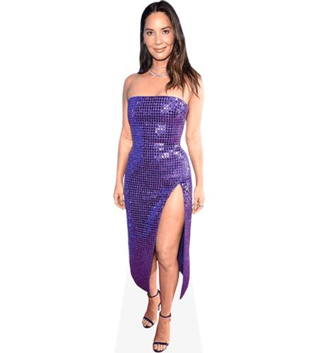 Olivia Munn (Purple Dress)