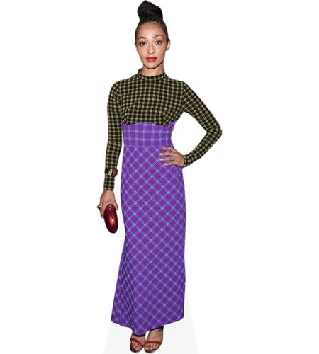 Ruth Negga (Purple Skirt)