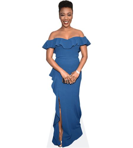 Samira Wiley (Blue Dress)