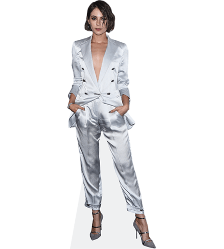Willa Holland (Silver Suit)