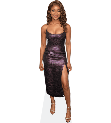 Ajiona Alexus (Purple Dress)