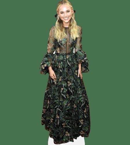 Madison Iseman (Floral Dress)