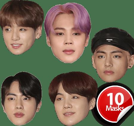 BTS Mask Pack