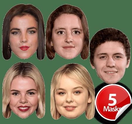 Derry Girls Mask Pack