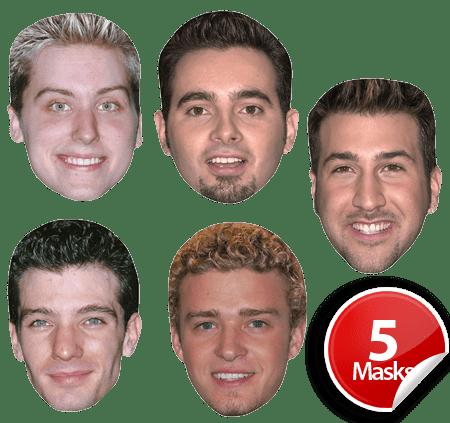 NSYNC Mask Pack