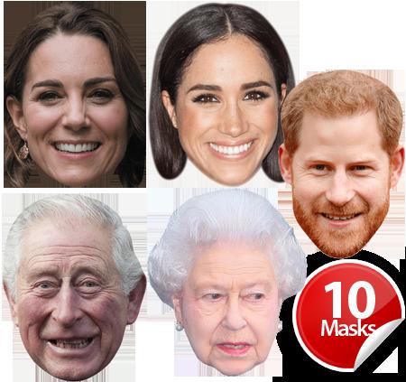 Royal Family Mask Pack