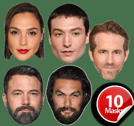 Superhero Movie Mask Pack 1