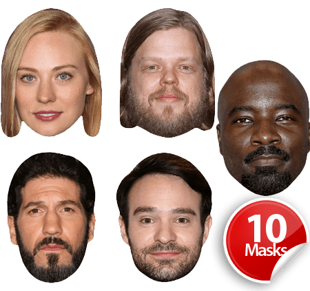 Superhero TV Mask Pack 2