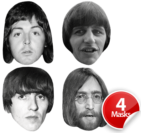 The Beatles Mask Pack