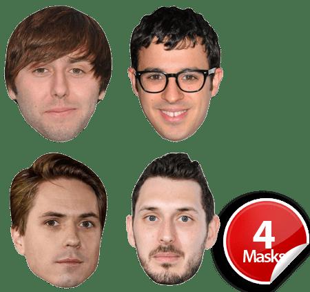 The Inbetweeners Mask Pack
