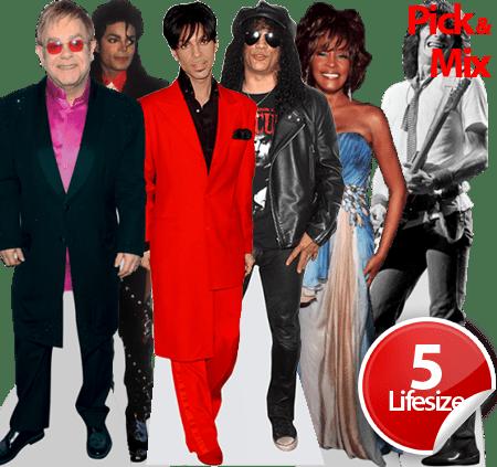 80's Pop Stars Life-size Bundle