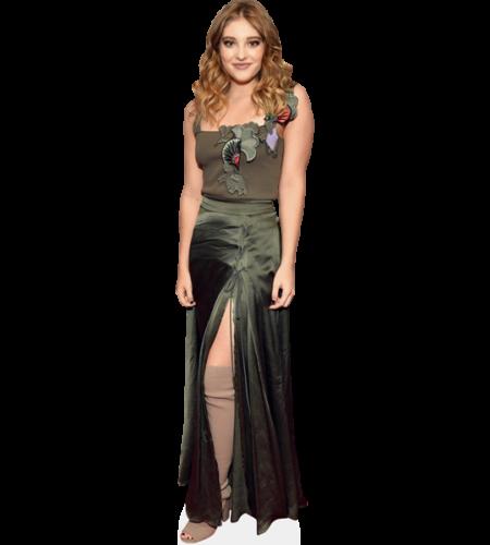 Willow Shields (Green Dress)