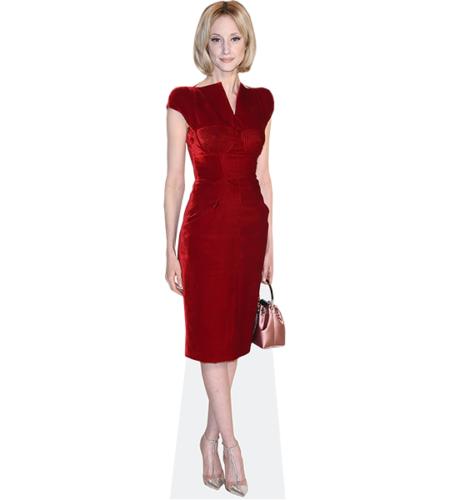 Andrea Riseborough (Red Dress)