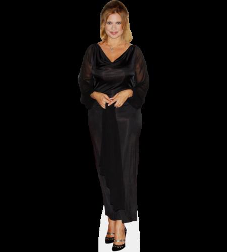 Debora Caprioglio (Black Dress)