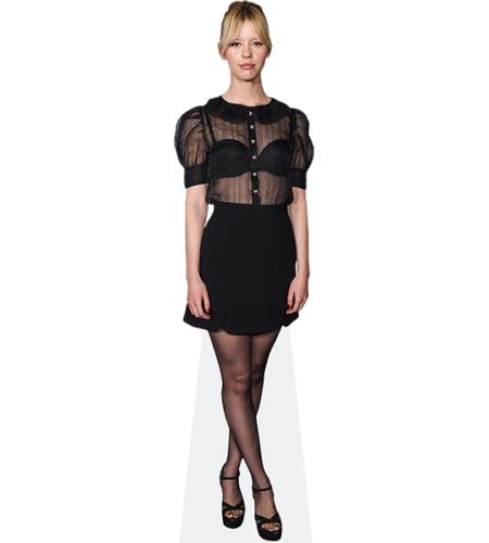 Mia Goth (Black Dress)