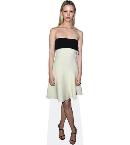 Mia Goth (White Dress)