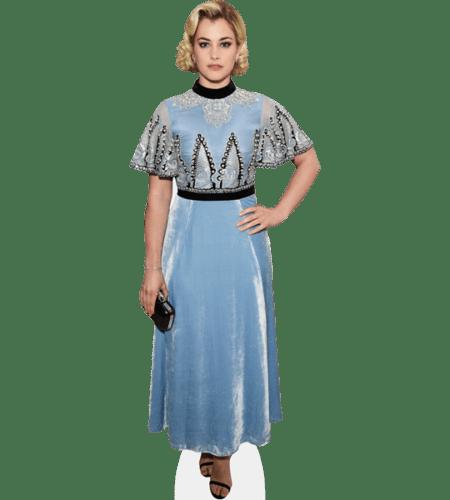 Stefanie Martini (Blue Dress)