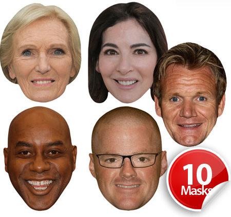 UK chefs Mask Pack