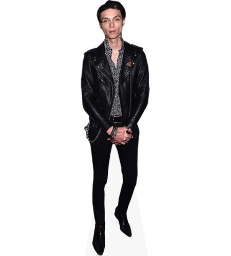 Andy Biersack (Leather Jacket)