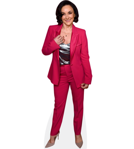 Shirley Ballas (Pink Suit)