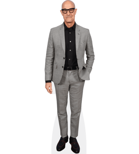 Stanley Tucci (Grey Suit)