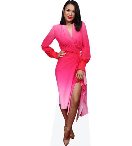 Fely Irvine (Pink Dress)