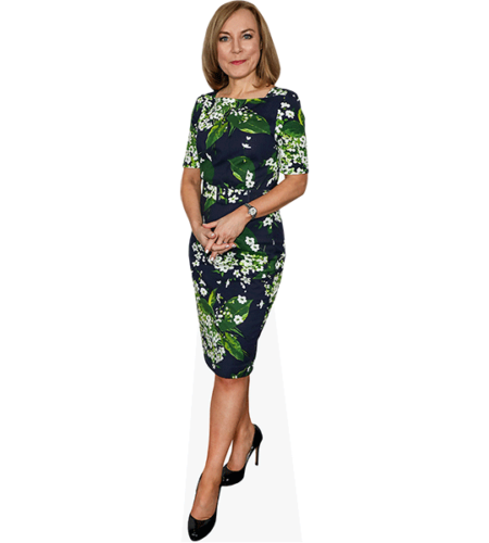 Sian Williams (Flowery Dress)