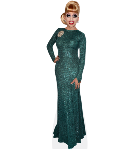Bianca Del Rio (Green Sparkle)