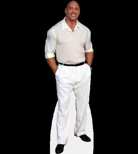 Dwayne 'The Rock' Johnson (White Outfit)