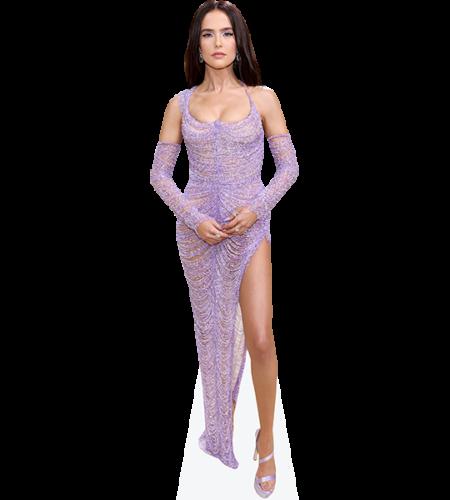 Zoey Deutch (Purple Dress)