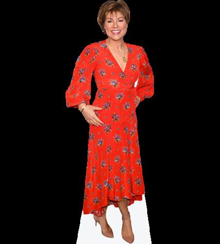 Kate Silverton (Red Dress)